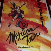 Photo taken at Mexican Town Restaurant by Daneya T. on 9/27/2012