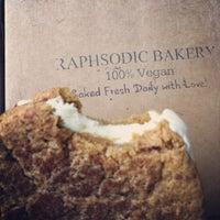 Photo taken at Raphsodic Bakery by Rebecca on 9/15/2012
