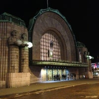 Photo taken at VR Helsinki Central railway station by Chris D. on 10/6/2012