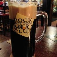 Photo taken at Rock Bottom Restaurant & Brewery by Aki Y. on 11/5/2012