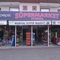 Photo taken at Nurhal Süpermarket&Apart_Pansiyon by Halil Harry M. on 2/17/2014