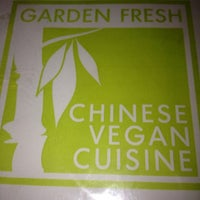 Photo taken at Garden Fresh Vegan Cuisine by Jeff P. on 11/13/2012