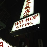 Photo taken at Wo Hop Restaurant by Marcel B. on 11/18/2012