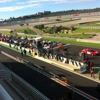 Photo taken at Circuit de la Comunitat Valenciana Ricardo Tormo by Gema on 12/1/2012