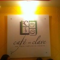 Photo taken at Café En Clave by Erika P. on 5/16/2014