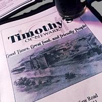 Photo taken at Timothy's by Derek H. on 3/15/2015