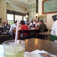 Photo taken at Mill Café by Melina P. on 2/4/2013