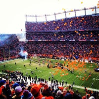 Photo taken at Sports Authority Field at Mile High by Peper G. on 1/12/2013