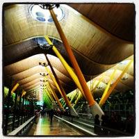 Photo taken at Terminal 4 Satélite by Mark B. on 3/24/2013