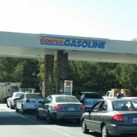 Photo taken at Costco Gasoline by Leilani on 3/22/2014