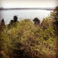 Photo taken at Leschi Park by Alan C. on 4/20/2014