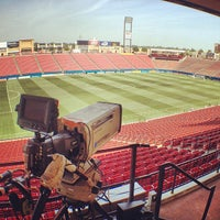 Photo taken at Toyota Stadium by Jimmy S. on 7/13/2013