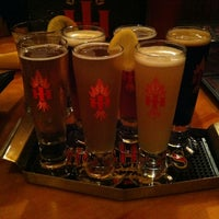 Photo taken at Hog Haus Brewing Company by Isaac A. on 11/10/2012