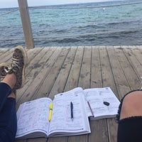 Photo taken at Arka Deniz by Yaren B. on 10/9/2015