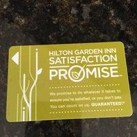 Photo taken at Hilton Garden Inn by Alex I. on 11/18/2015