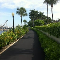Photo taken at Palm Beach Bike Trail by Keith M. on 8/19/2012