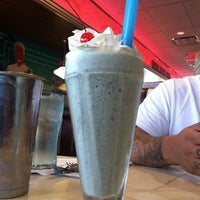 Photo taken at Silver Diner by Melissa M. on 5/3/2012