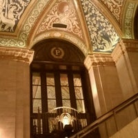 Photo taken at Palmer House - a Hilton Hotel by Sara S. on 4/8/2012