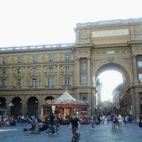 Photo taken at Piazza della Repubblica by Combat C. on 7/11/2012