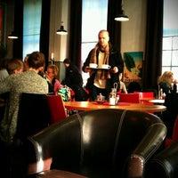 Photo taken at Café Strykjärnet by Karin J. on 3/4/2012