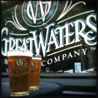 Photo taken at Great Waters Brewing Company by Leigh L. on 6/23/2012