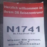 Photo taken at DB Reisezentrum by Thomas P. on 8/6/2012