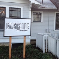Photo taken at Eastside Cafe by Laura F. on 3/14/2012