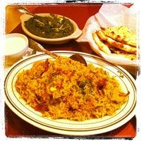 Photo taken at Saffron Indian Cuisine by Craig L. on 2/10/2012