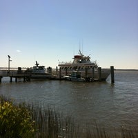 Photo taken at Cumberland Lady (ferry To Cumberland Island) by Kim W. on 3/25/2012
