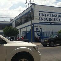 Photo taken at Universidad Insurgentes Plantel León by Paoh on 7/24/2012