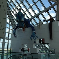Photo taken at Rock & Roll Hall of Fame by Sara B. on 5/24/2012