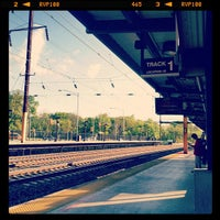 Photo taken at NJT - Metropark Station (NEC) by Michael R. on 4/27/2012