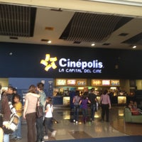 Photo taken at Cinépolis Multicentro by Esteban Q. on 4/11/2012