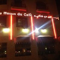 Photo taken at La Maison Du Cafe by Hassan on 4/10/2012