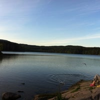 Photo taken at Sognsvann by Alex on 8/27/2012