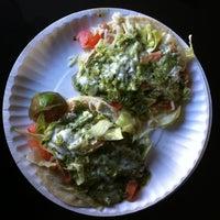 Photo taken at El Tonayense Taco Truck by Vijay B. on 4/1/2012