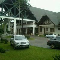 Photo taken at Termas de Jurema Resort Hotel by Priscila P. on 4/21/2012