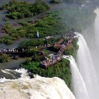 Photo taken at Iguazu Falls by Cataratas del Iguazú - Iguazú Falls, Argentina on 6/17/2012