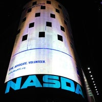 Photo taken at Nasdaq Marketsite by Markus S. on 4/28/2012
