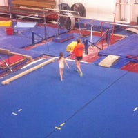 Photo taken at Gymquarters Gymnastics Center by LB P. on 3/24/2012