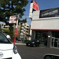 Photo taken at Toyota of Downtown LA by Erik S. on 2/29/2012