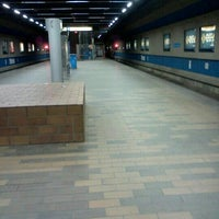 Photo taken at Churchill LRT Station by Don P. on 4/15/2012