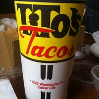 Photo taken at Tito's Tacos by Jennifer R. on 5/12/2012