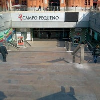 Photo taken at Centro Comercial do Campo Pequeno by Vitor R. on 2/27/2012