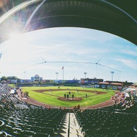 Photo taken at Clipper Magazine Stadium by Jeff F. on 6/13/2012