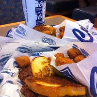 Photo taken at Culver's by Jim M. on 8/3/2012