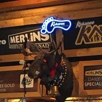 Photo taken at Merlins Bar & Grill Whistler by Johann v. on 2/18/2016