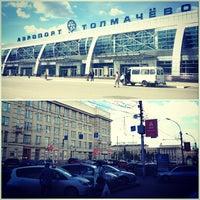 Photo taken at Tolmachevo International Airport (OVB) by Victoria 🌟 on 7/11/2013