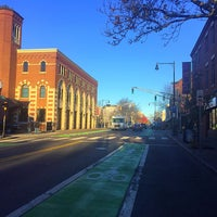 Photo taken at Inman Square by Alaine H. on 11/22/2016
