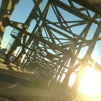 Photo taken at Maurice J. Tobin Memorial Bridge by Keith V. on 1/18/2013